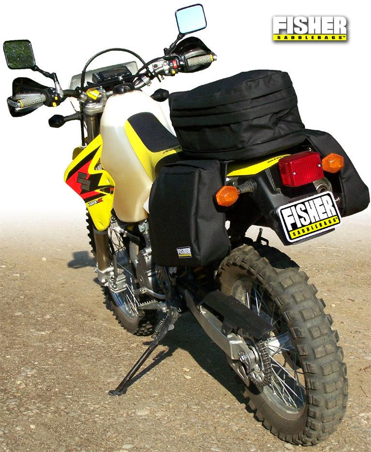 Fisher Saddlebags Suzuki Drz 400 Seat Rack Amp Luggage