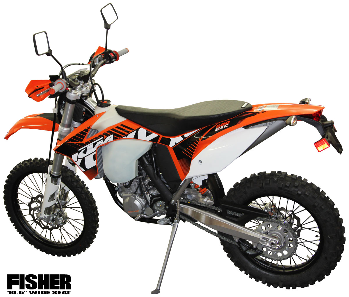 fisher seats - aftermarket ktm seats $299.99 - 350 450 500 exc xc