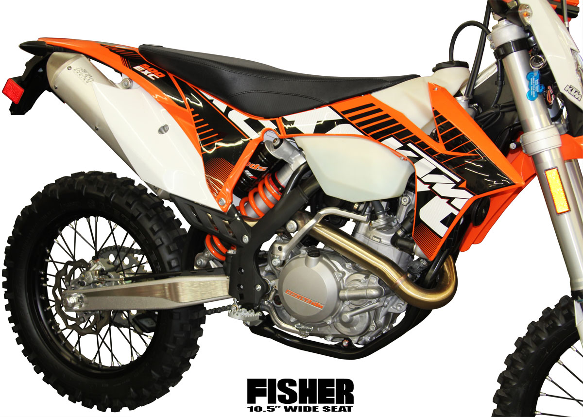 Fisher Seats - Aftermarket KTM Seats $299.99 - 350 450 500 EXC XC-W 2014