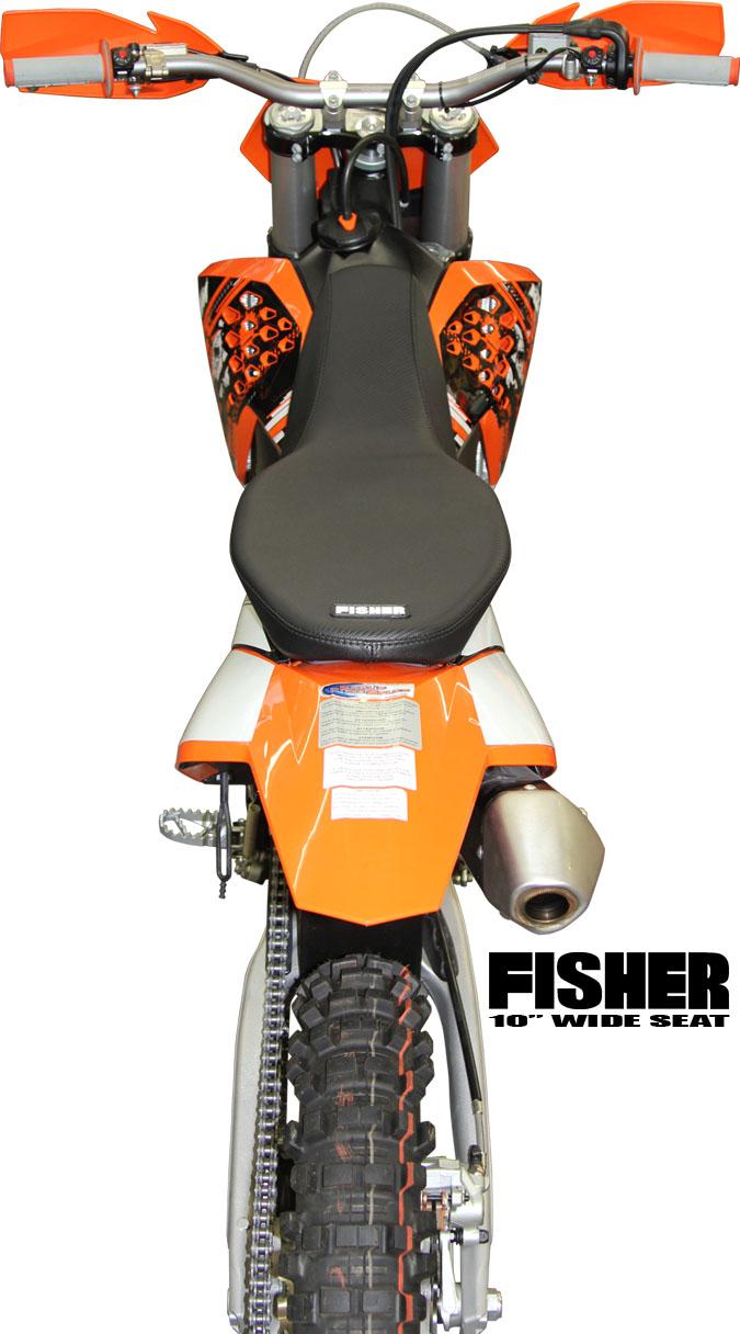 fisher seats - aftermarket ktm seats $299.99 - 300 450 530 exc xc-w